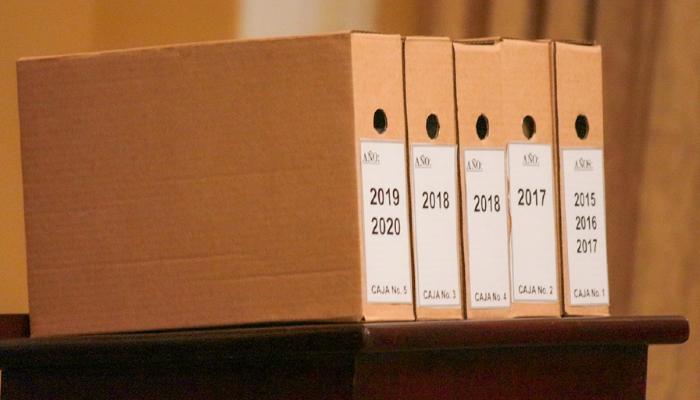 Juez de San Francisco Gotera recibe supuestos archivos desclasificados por la Presidencia relacionados al caso El Mozote